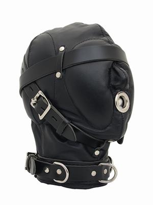 Heavy Duty Hood met zachte paddings over de ogen en de mond.