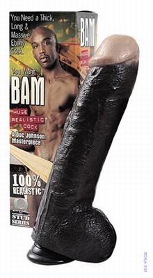 Bam's Ultra Realistic Big Black Cock