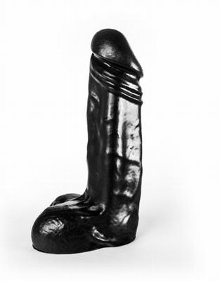 Jumbo Jack Man-O-War Black Dildo 22 x 6 cm