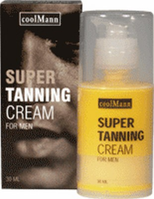 coolMann Super Tanning Cream