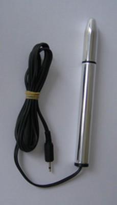 Electrosex Stimulation Dildo - Aluminium