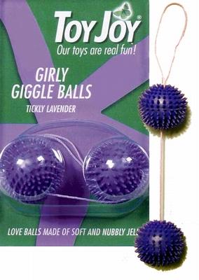 Girly Giggle Balls Lustballen, lavendel