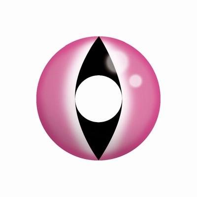 Funlenzen, TerrorEyes contactlenzen, Pink Cat Eye