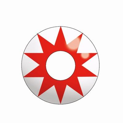 Funlenzen, TerrorEyes contactlenzen, Red Star