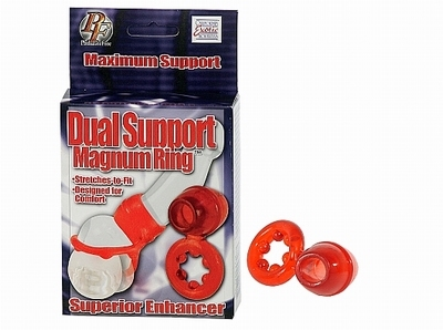 Dual Support Magnum Cockring/Penisring
