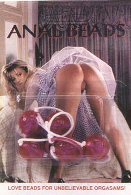 Doorzichtige anaal ballen, medium
