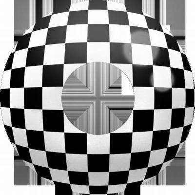 Funlenzen, TerrorEyes contactlenzen, Checkered