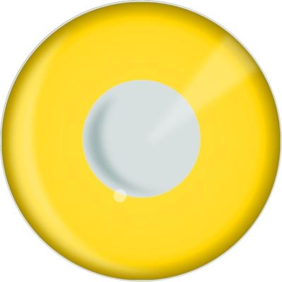 Funlenzen, DemonEyes contactlenzen, Yellow