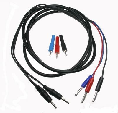 E-Stim Electrosex TriPhase Kabel en Adapters set