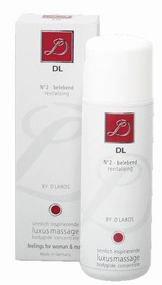 D'Laros N°2 Luxe Massage Bodyglide, vitaliserend