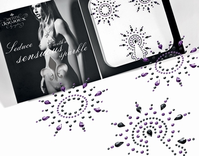 Body Sierraden set - Petits Joujoux Gloria, paars/zwart