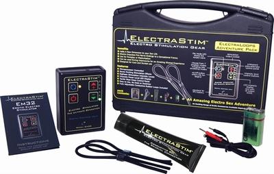 ElectraStim Elektroseks, complete Startset met Loops