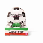 World Kick mini vibrerende voetbal, (vibratie ei)  groen