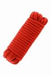 Bondagetouw 10 meter - extra dun, rood