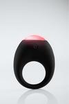 Toy Joy - Eclipse vibrerende cockring met LED - zwart