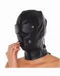 Masker met afneembare Oog- en Mondkleppen.