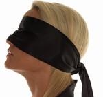 Blinddoek van 100% Polyester, zwart