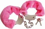 Fluffy Bont Handboeien Roze