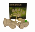 Chinese Cuppingset met 5 cups
