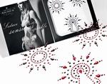 Body Sierraden set - Petits Joujoux Gloria, rood/zwart