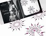 Body Sierraden set - Petits Joujoux Gloria, roze/zwart