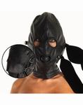 Gezichtsmasker met mondknevel, ogen en mond afneembaar
