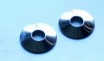 Kleine tepelschijven, RVS, glad, 3 cm