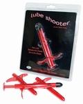 Lube Shooter glijmiddel spuit, 3 stuks, diverse kleuren